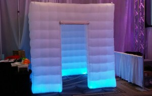 Inflatable Led Photo Booth 8'x8'